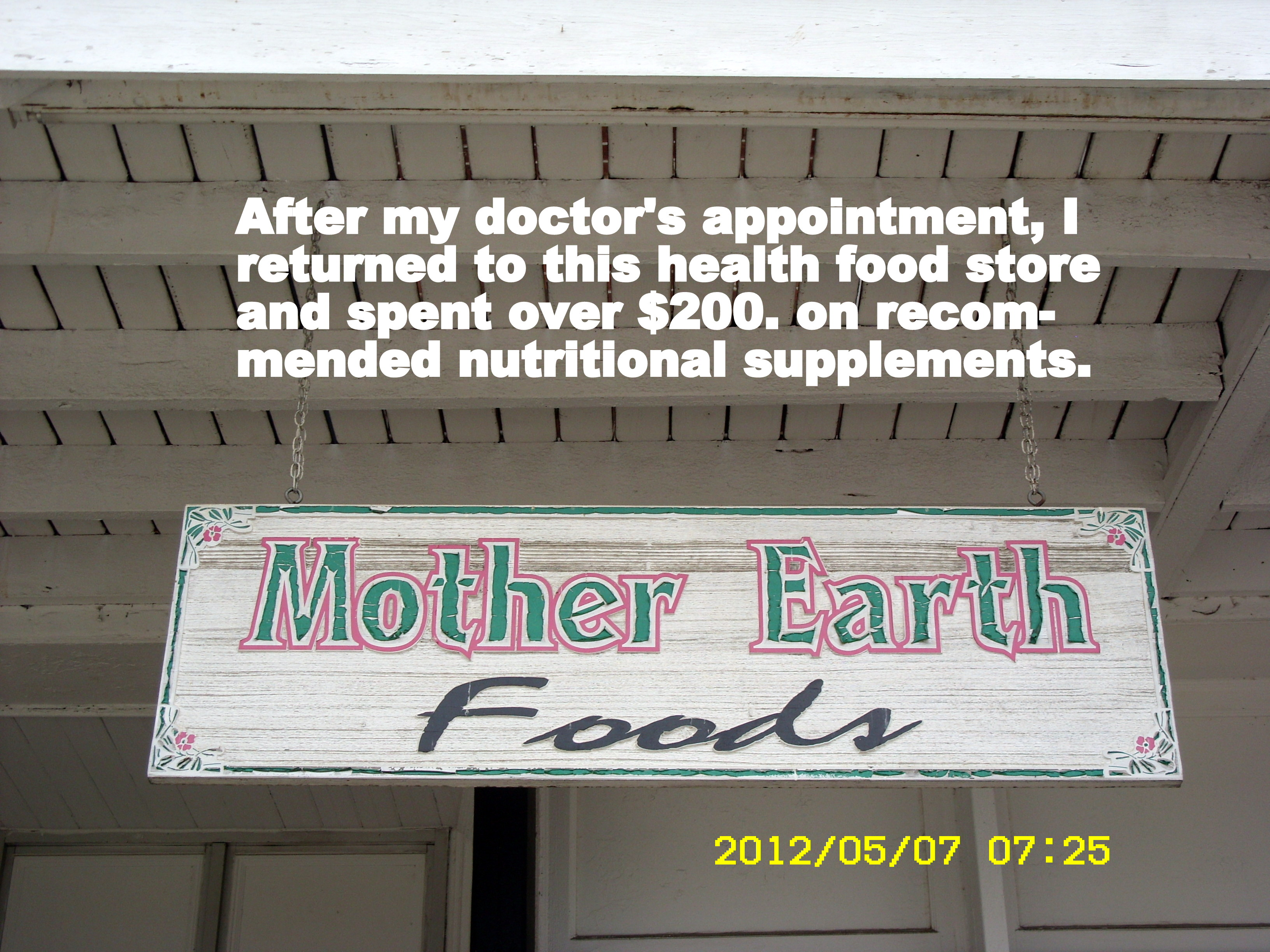 Mother earth foods health food store
