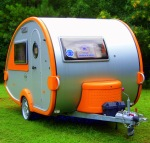 T@B tiny travel trailer.