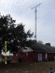 The antenna.
