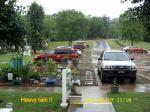 Heavy rain !!