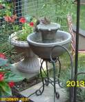 Squirrel at the fountain
