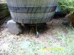 Repair of tilting tomato planter