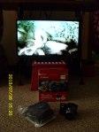 New TV & new Canon camera.