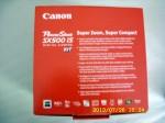 New Canon camera.
