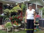 Cynthia visits Lorraine's backyard garden.