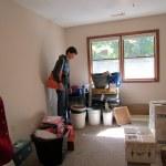 One corner of bedroom/storeroom