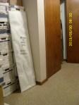 Hall closet area
