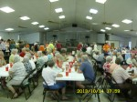 Crowd of 200 for dinner