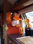 Orange kitchen decorations