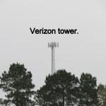 Verizon tower