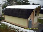 Still snow on roof