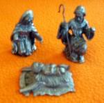 Baby Jesus, Mary & Joseph