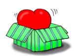 valentine-clipart-heart-in-green-box