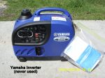 Yamaha Inverter Generator (never used)