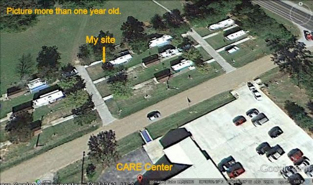 Care Center via Google Earth