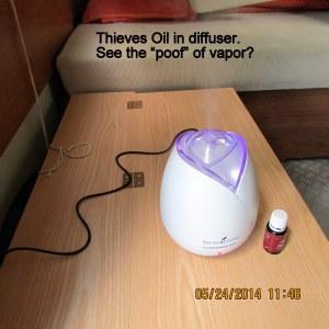Thieves Oil in TaB