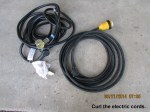 Curl the electric cords