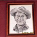 Cowboy Ronald Reagan