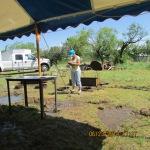 Outdoor cook area #1