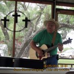"""Sam Stone singing """"This Old House"""""""