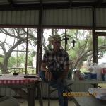 Young cowboy preacher