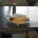 Man-size serving of Taco salad