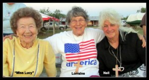 Miss Lucy, Lorraine and Nell