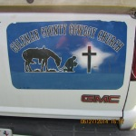 Cowboy Church sign