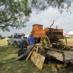 Unloading a chuck wagon #1