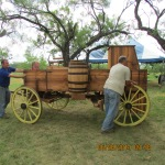 Unloading a chuck wagon #3