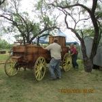 Unloading a chuck wagon #4