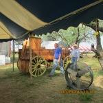 Unloading a chuck wagon #5