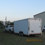 Cargo trailer for Chuck Wagon