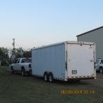 Cargo trailer for Chuck Wagon