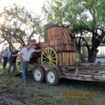 Loading a chuck wagon