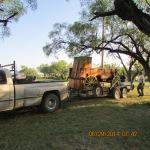 Loading the chuck wagon