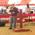 Cowboy preacher