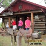 Old saddles