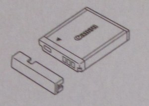 Canon battery image