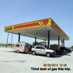 Third tank of gas