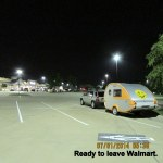 Ready to leave Walmart