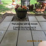 Planter will be moved
