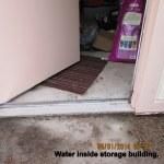 Water in storage building (1)