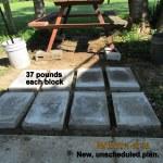 37 pound blocks
