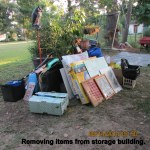 Removing items from storage (1)