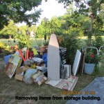 Removing items from storage (2)