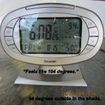 6:08 time and temperature