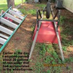 Empty wheelbarrow
