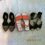 Thrift shop shoes