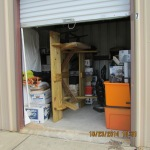 The cluttered storage unit